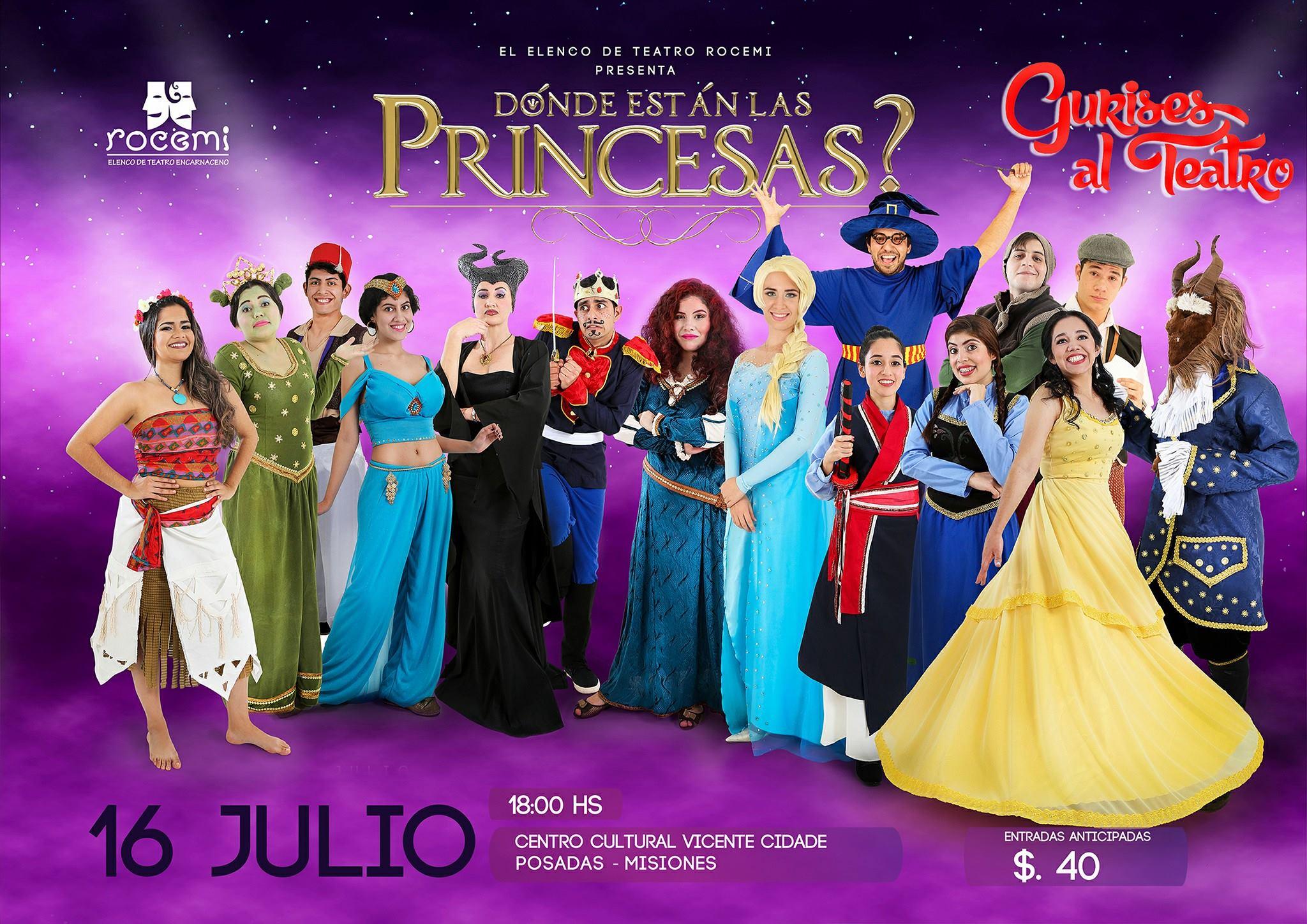 16 princesas